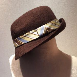 Kangol Hat with Hermès Tie